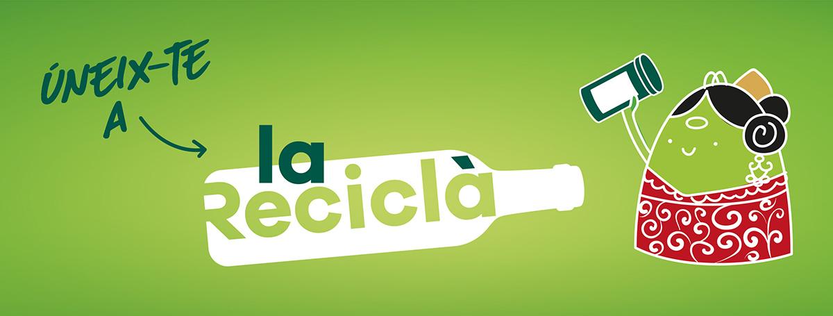 uneix-te a la recicla